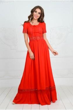 Длинное платье от VALENTINO