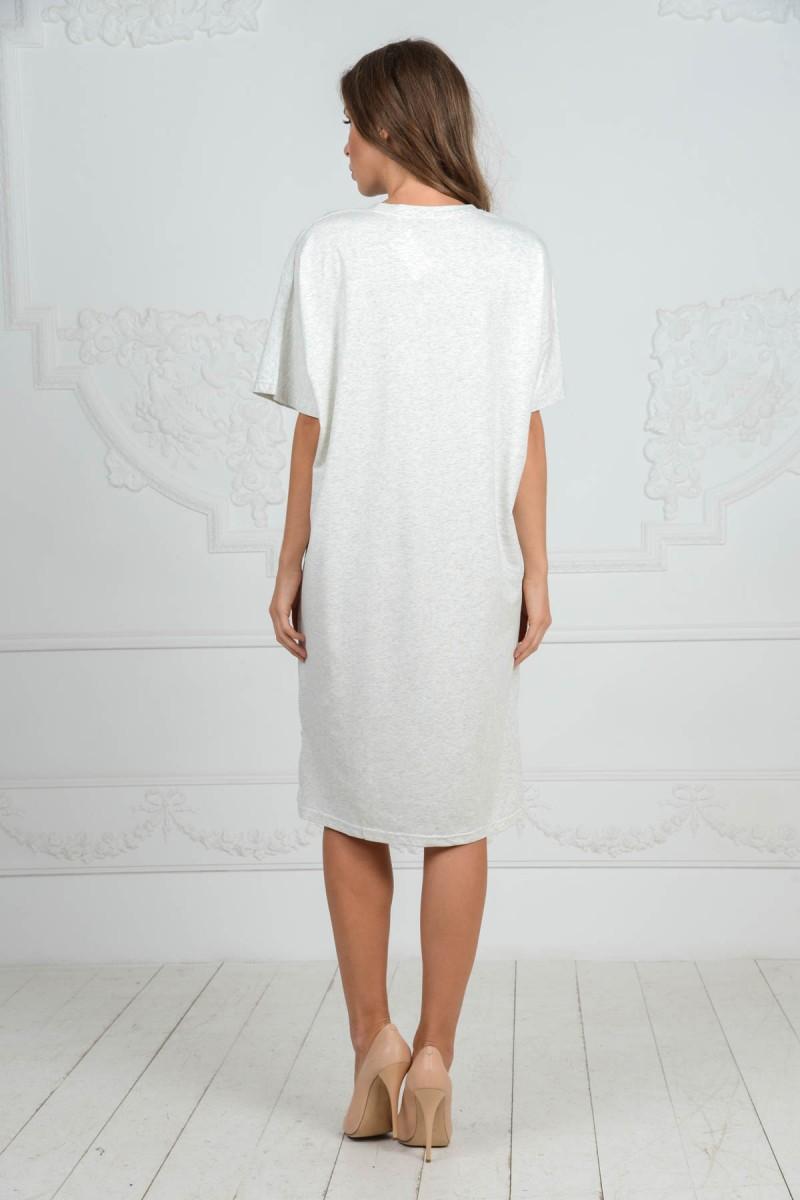 Удлинённое платье