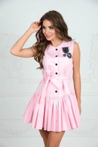 Хлопковое платье от DIOR
