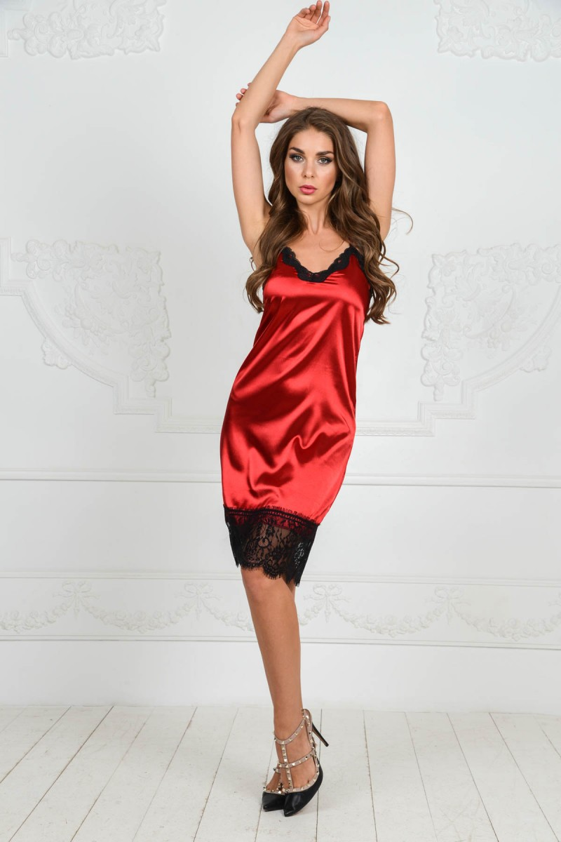 Платье из шёлка от Dolce Gabbana