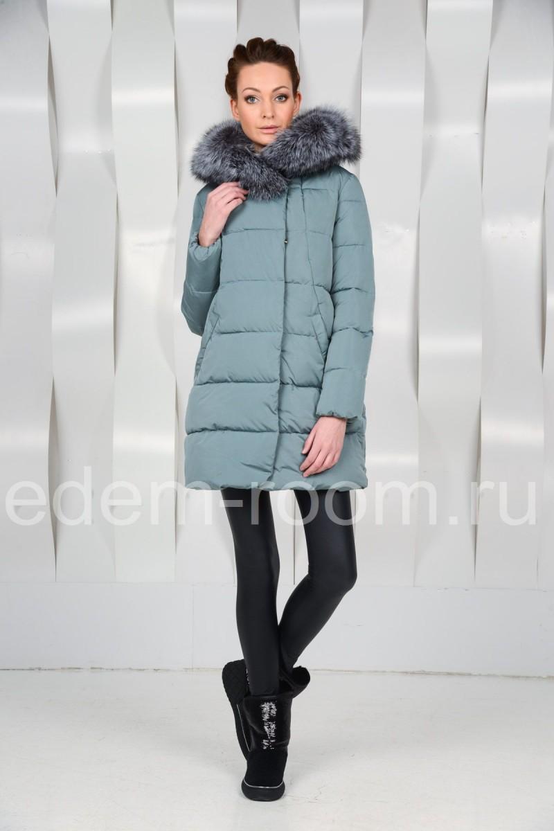 Женский пуховик для зимы