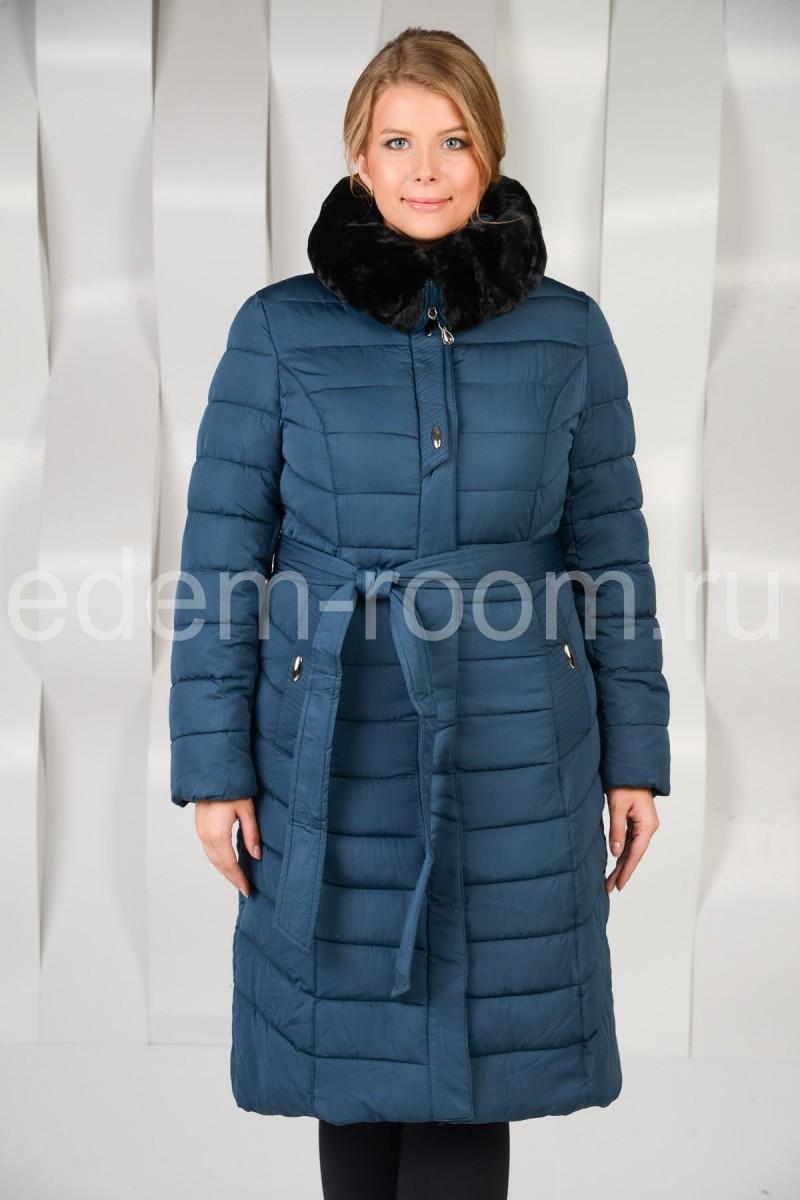 Женское зимнее пальто для больших размеров