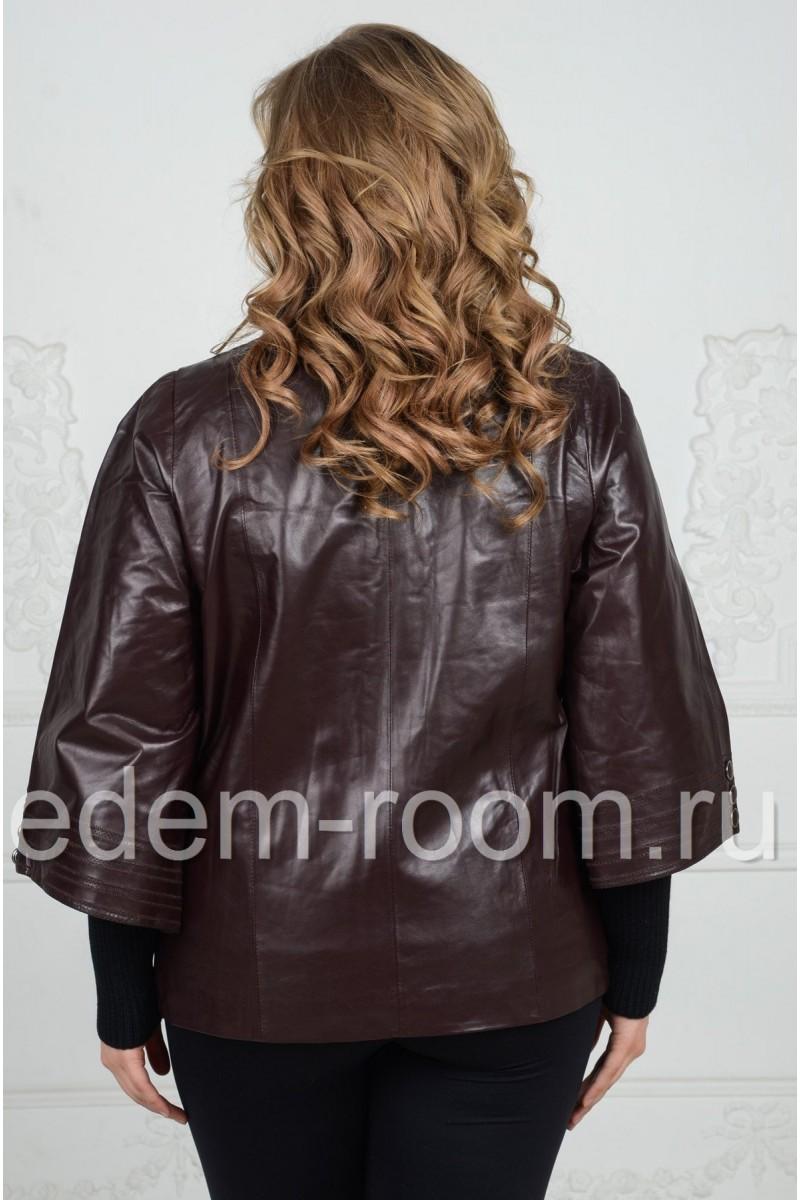 Женская демисезонная куртка для больших размеров