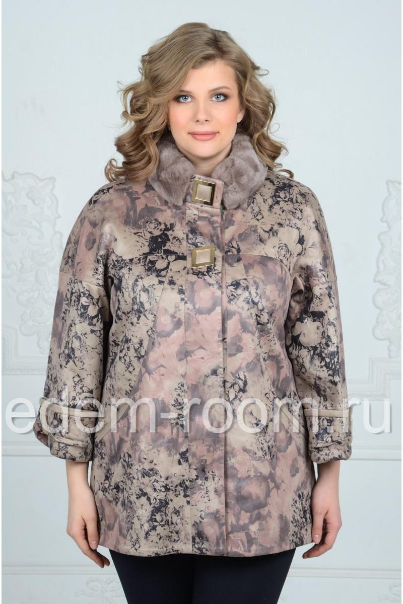 Недорогая женская куртка на большие размеры