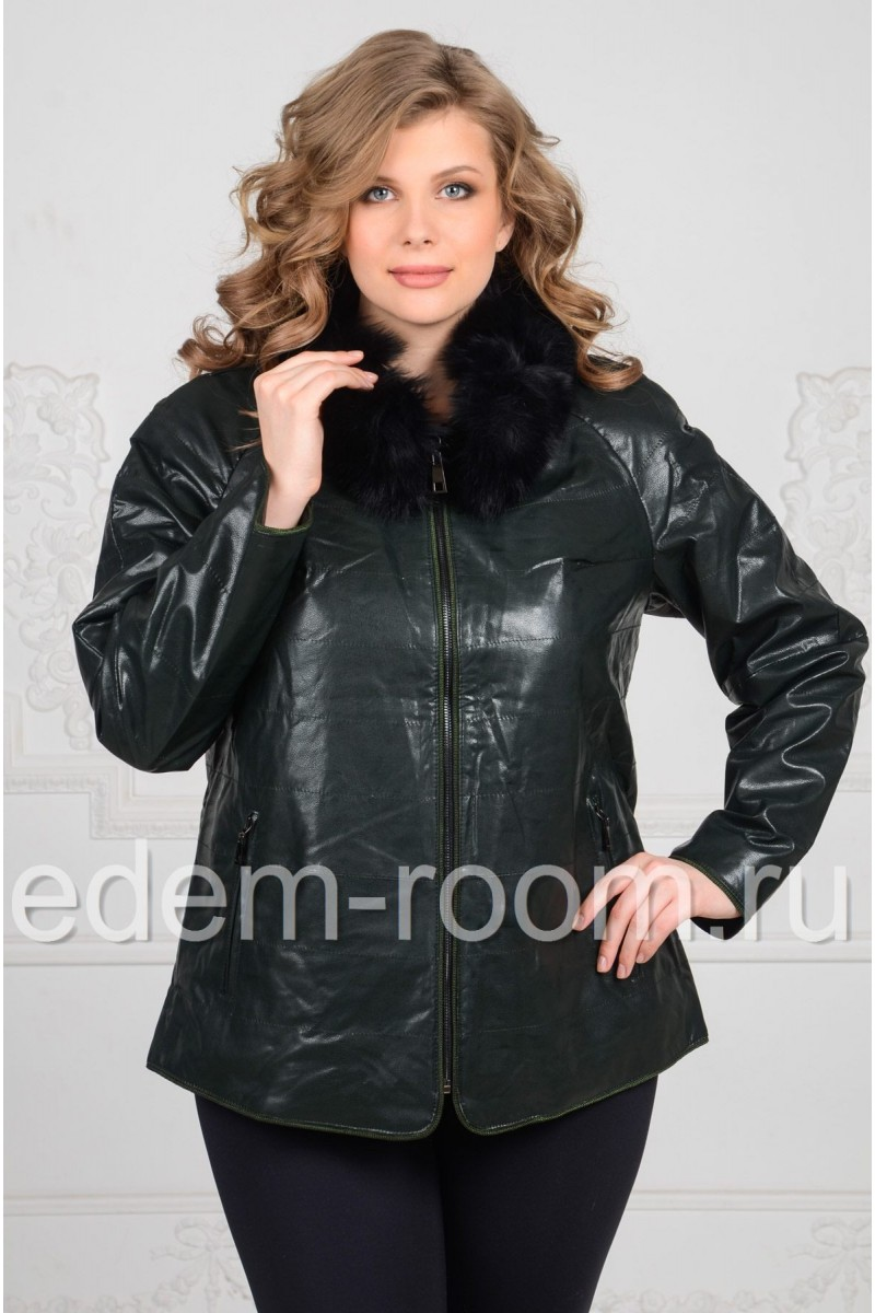 Куртка из эко-кожи для весны
