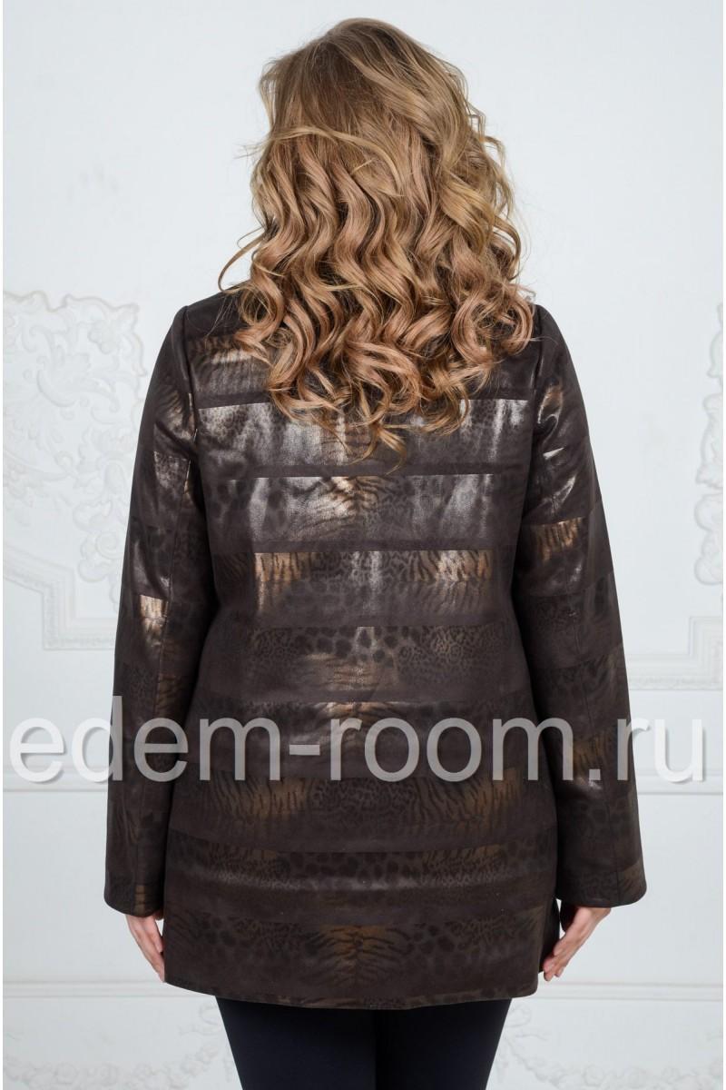 Женская куртка на большие размеры