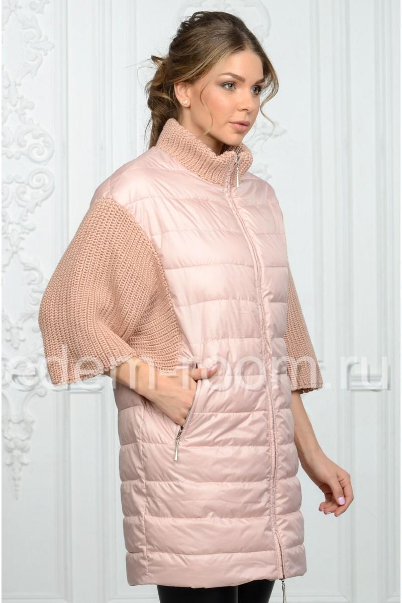 Женская куртка на молнии
