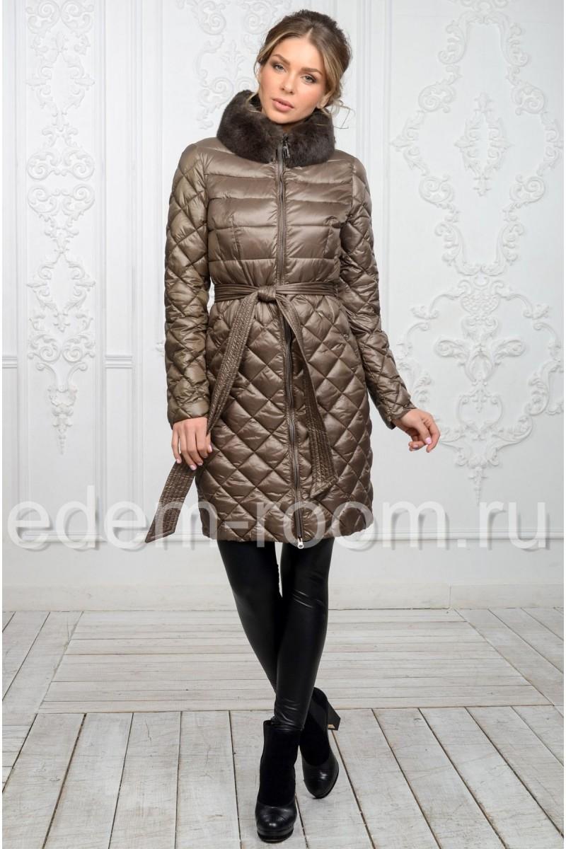 Осенне - весеннее пальто из ткани