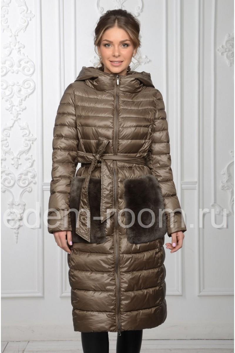Утеплённое пальто для прохладной погоды