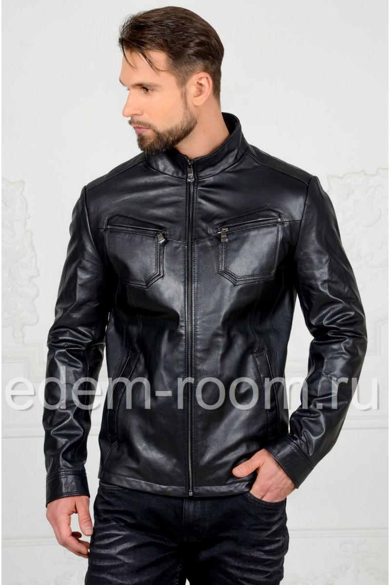 Недорогая кожаная куртка мужская