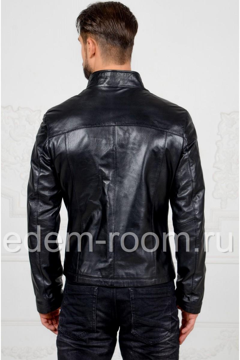 Недорогая мужская кожаная куртка