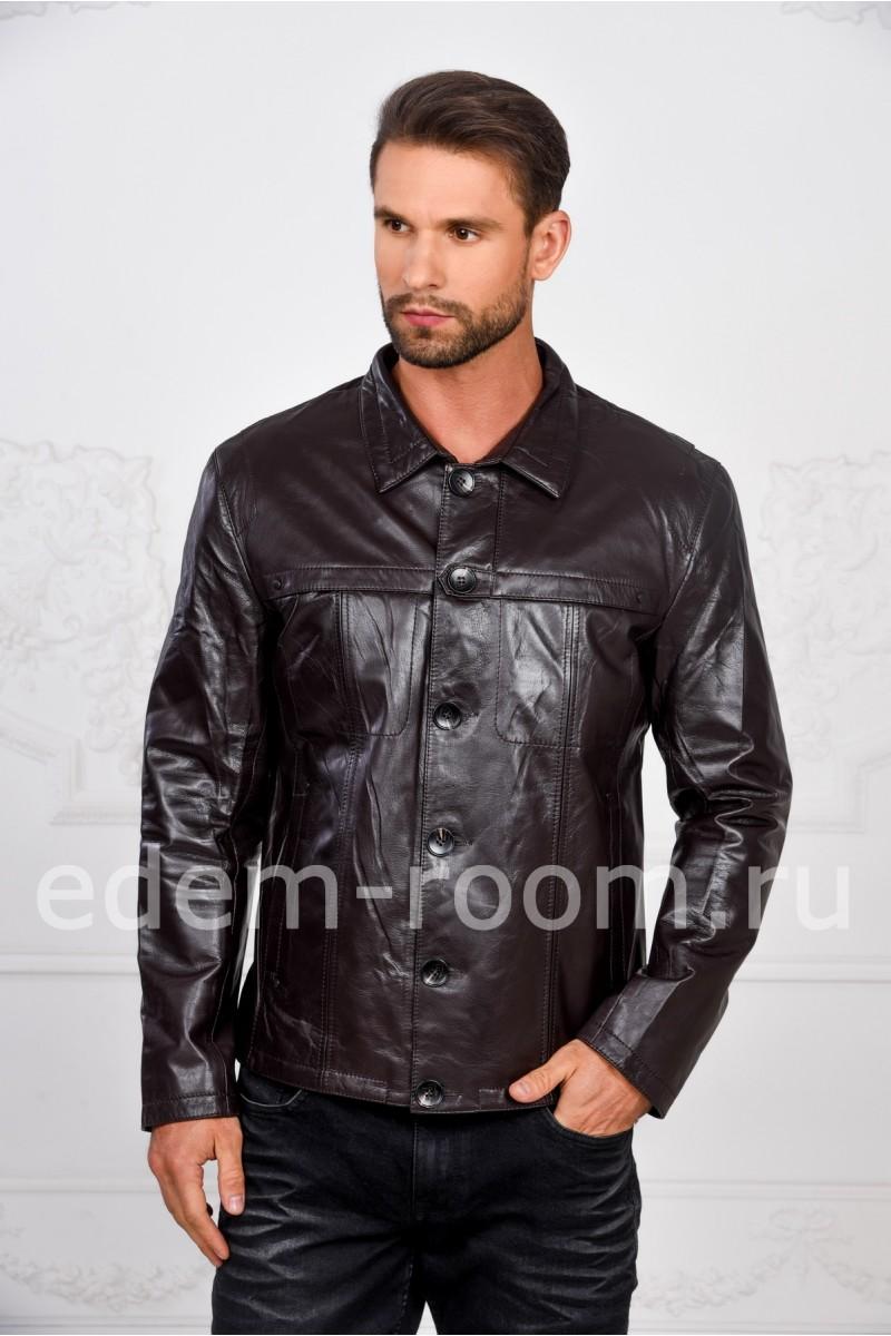 Мужская кожаная курткa