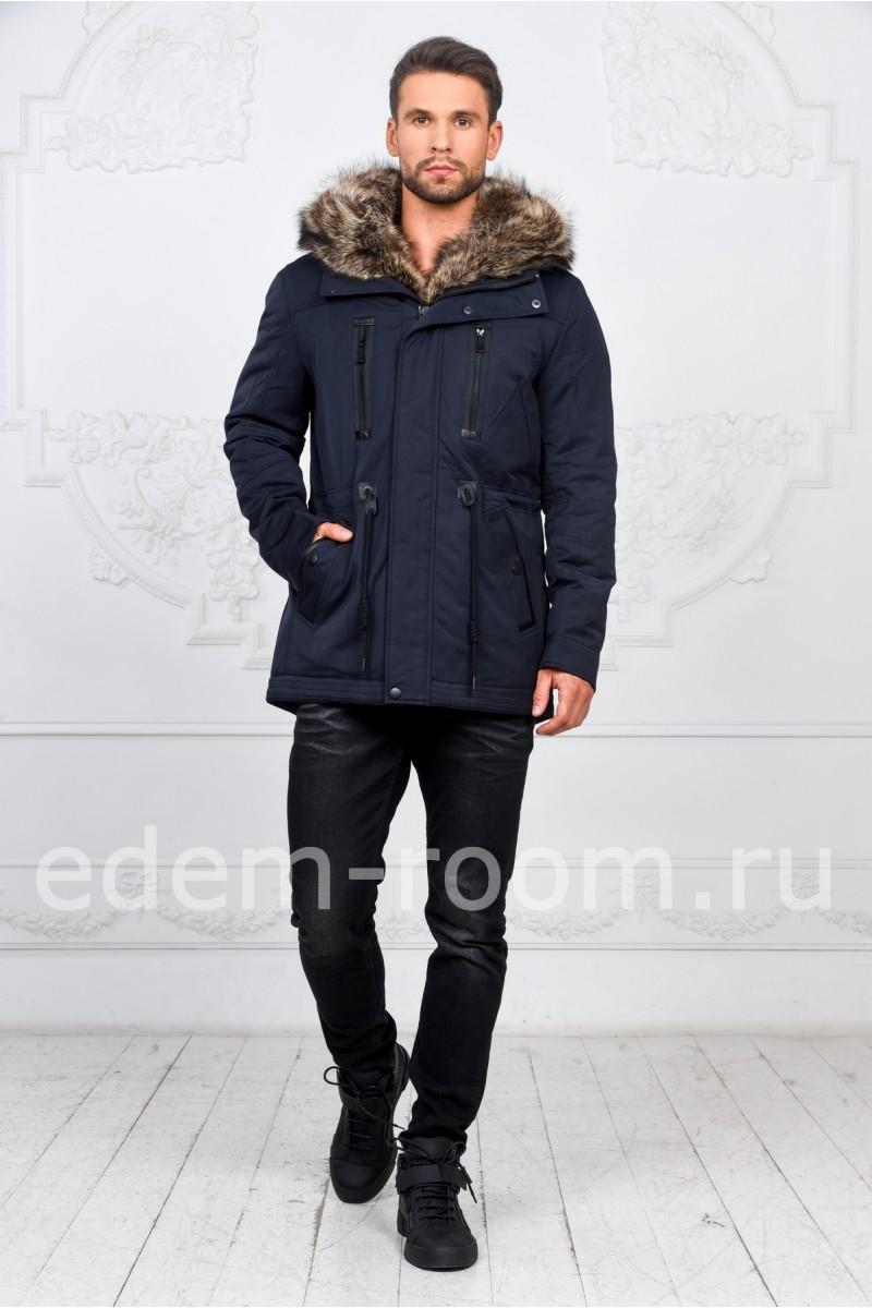Зимняя пехора с капюшоном