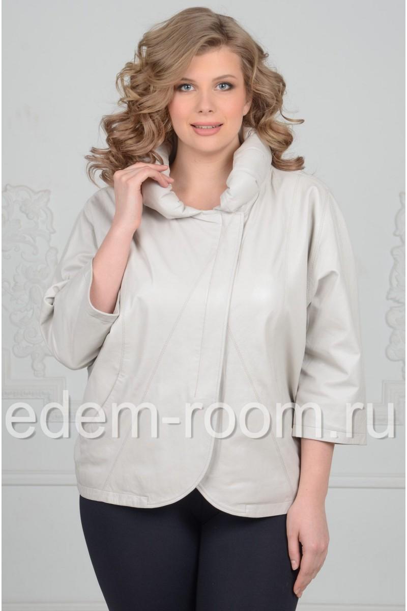 Кожаная куртка  Весна - Лето -2017