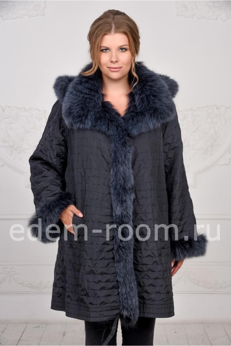 Меховое пальто для женщин