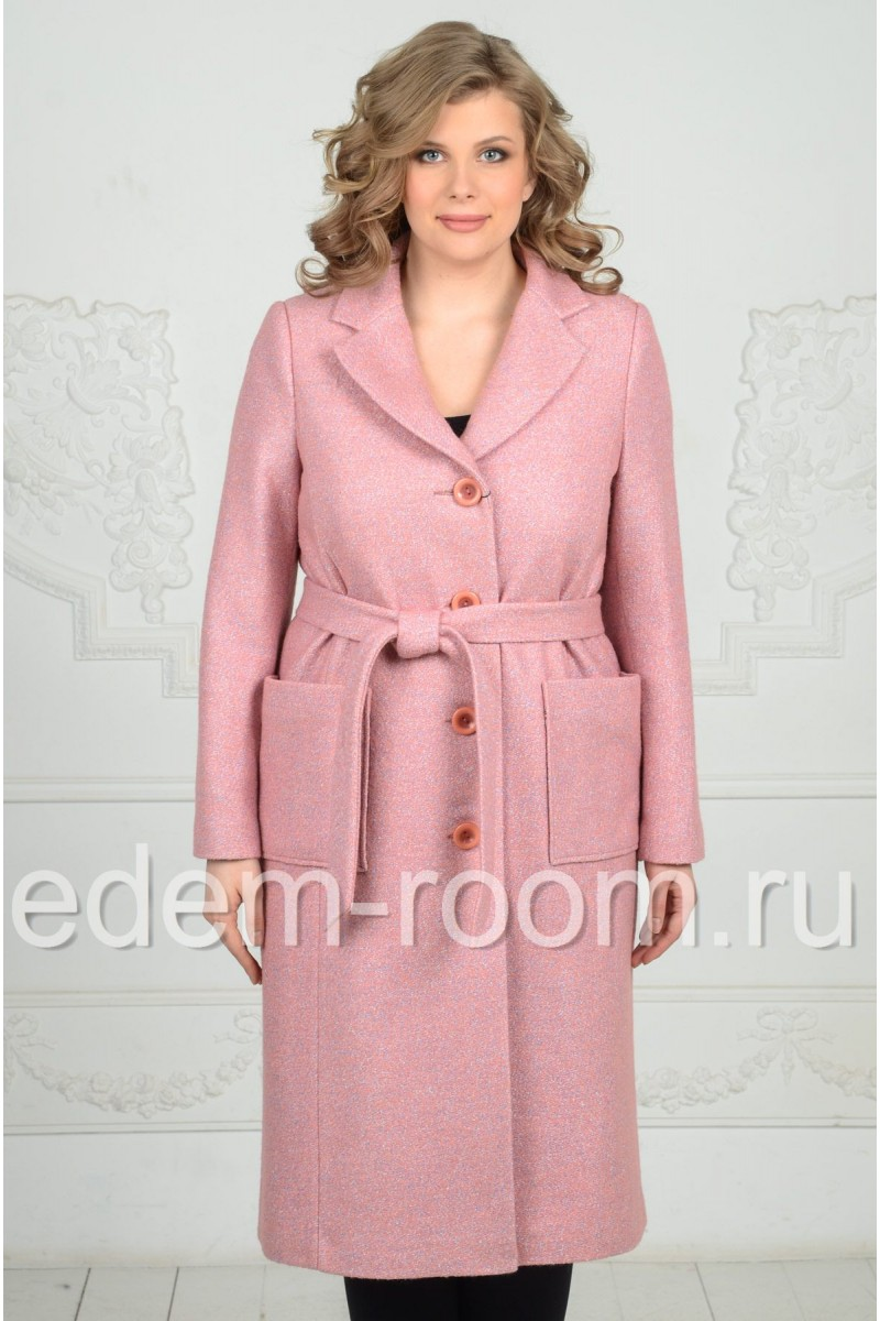 Пальто из шерсти на пуговицах
