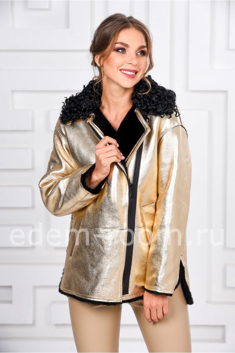 Молодёжная куртка - дублёнка - Зима