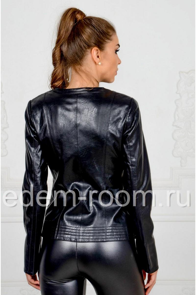 Куртка воротник шанель
