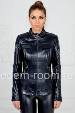 Недорогая куртка из эко-кожи