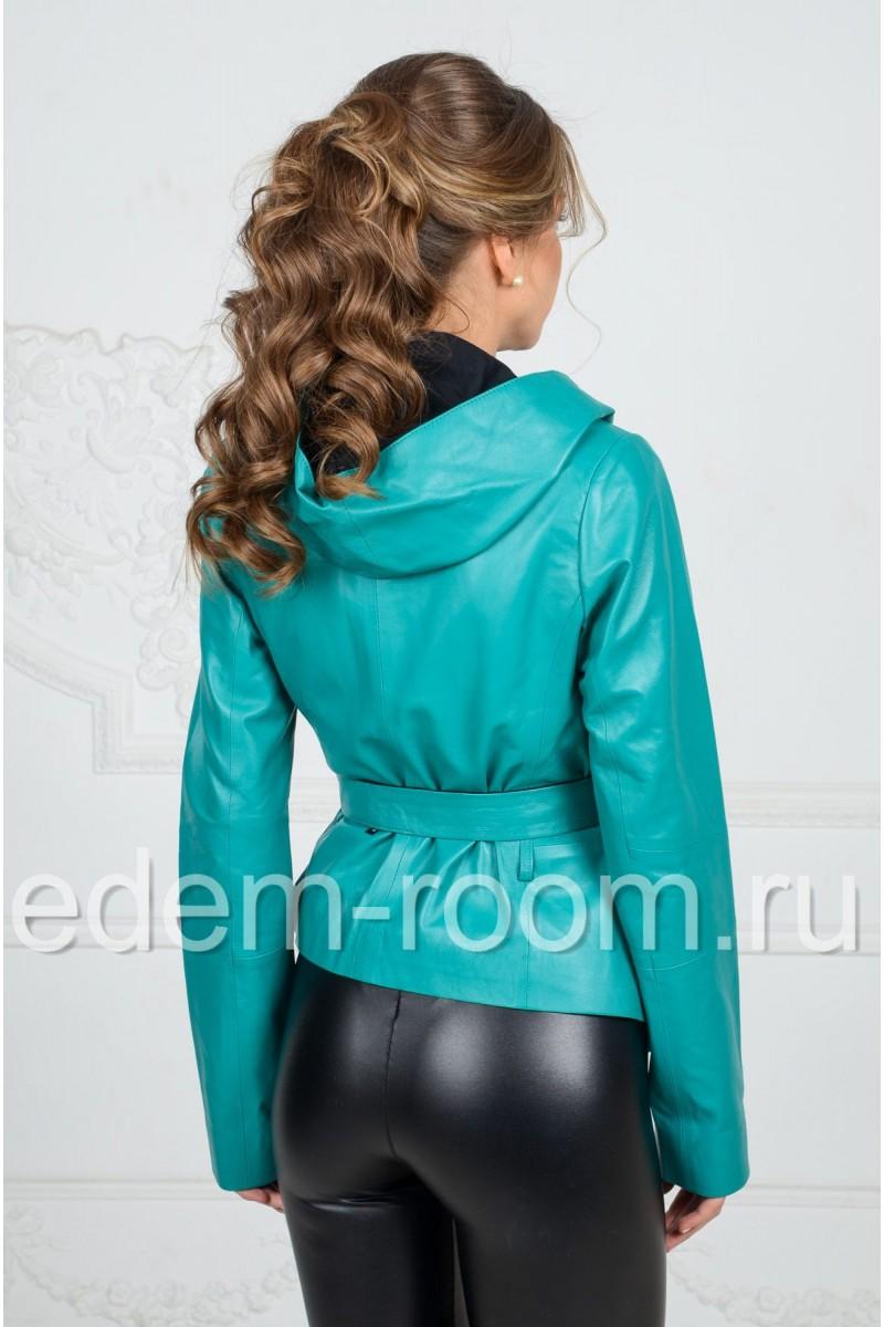 Кожаная куртка для весны