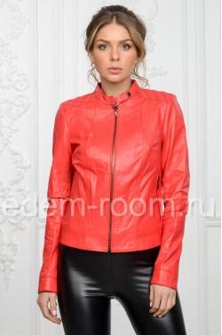 Женская кожаная куртка - весна 2017