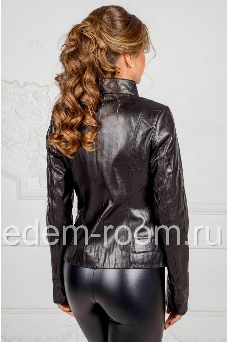 Осенне - весенняя куртка из кожи