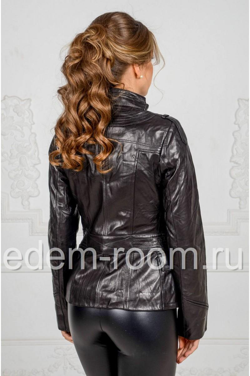 Кожаная куртка для прохладной погоды