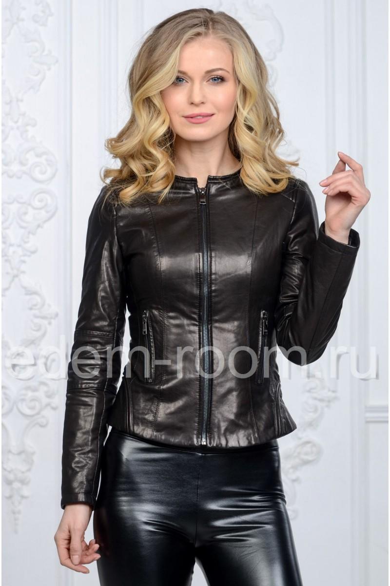 Новинка. Женская кожаная куртка
