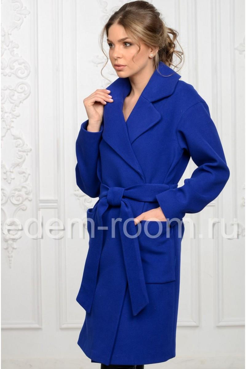 Модное пальто из кашемира