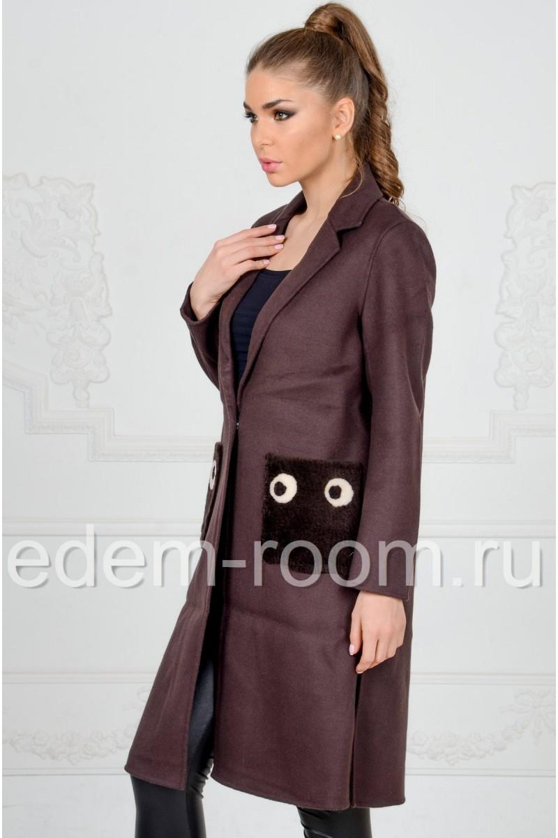 Пальто из кашемира