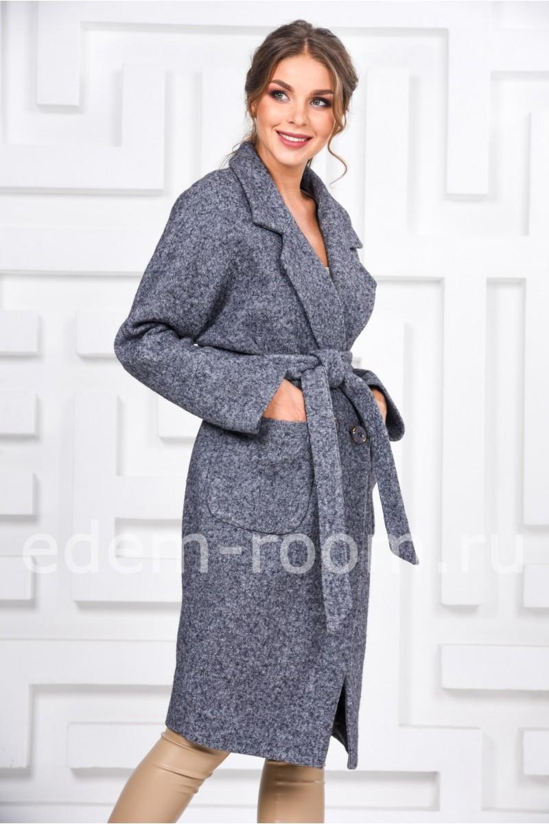 Пальто с английским воротником
