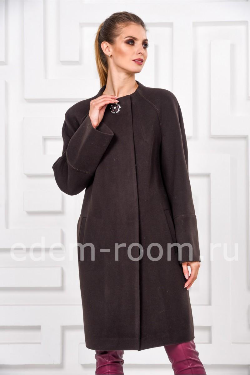 Кашемировое пальто для осенней погоды