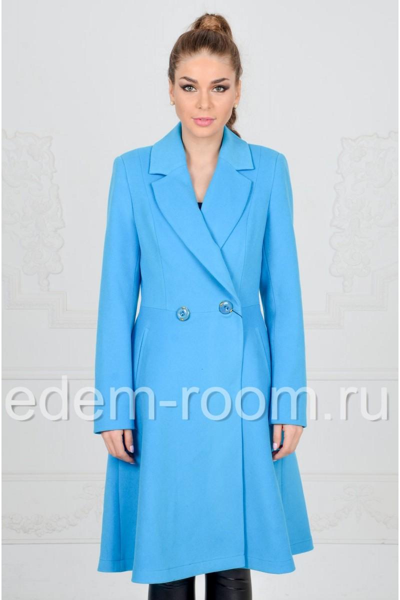 Весеннее пальто из кашемира
