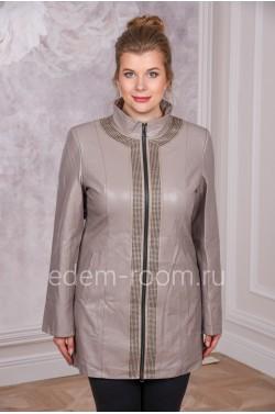 Куртка из экокожи на большие размеры