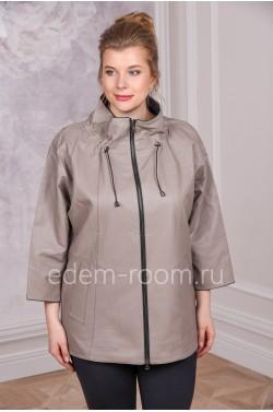 Куртка из экокожи для дам