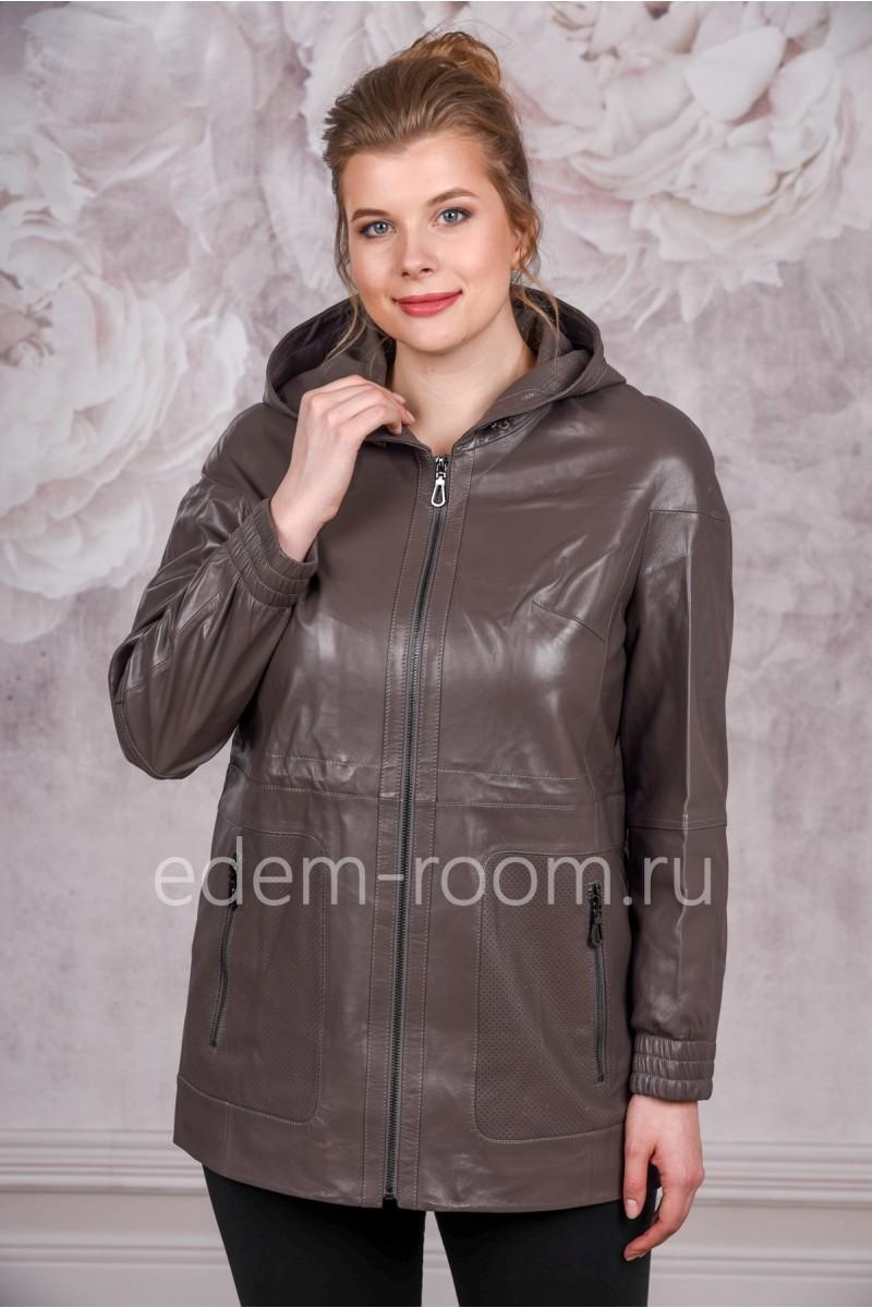 Кожаная куртка для больших размеров