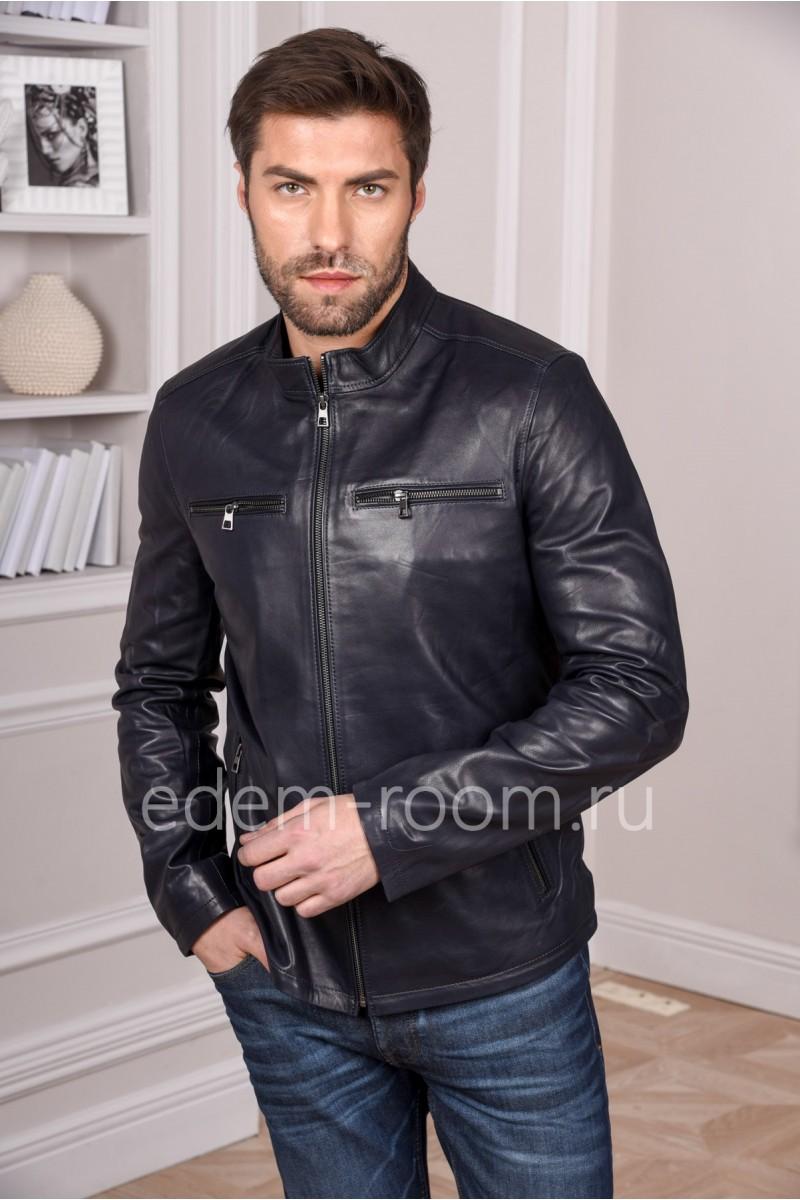 Турецкая куртка из натуральной кожи молодежная