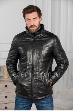 Мужская куртка из кожи - Зима 2019