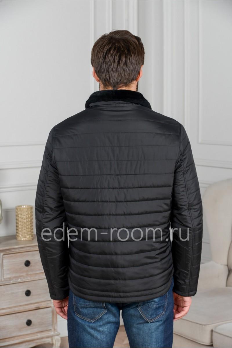 Мужская куртка без капюшона