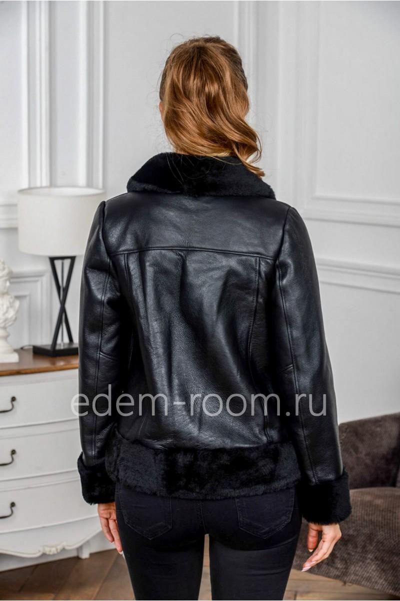 Дублёнка - куртка без капюшона