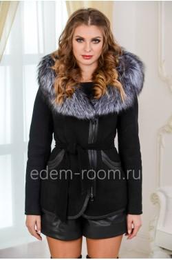 Укороченная дубленка - куртка