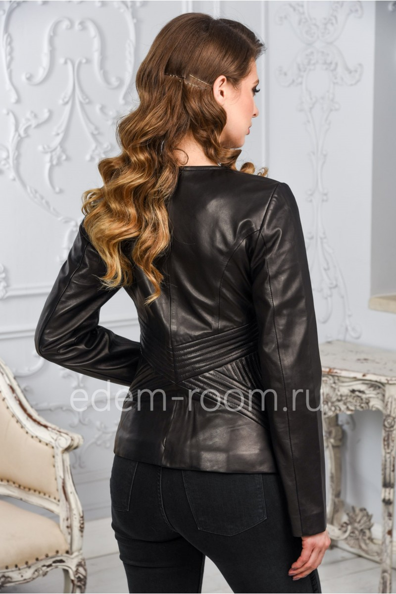 Женская кожаная куртка. Недорого!