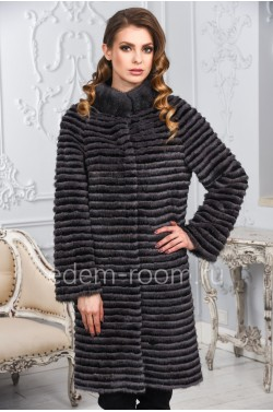Меховое пальто из меха норки