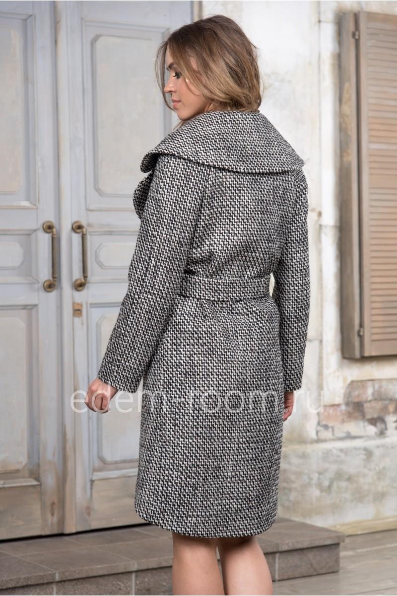 Демисезонное пальто - букле