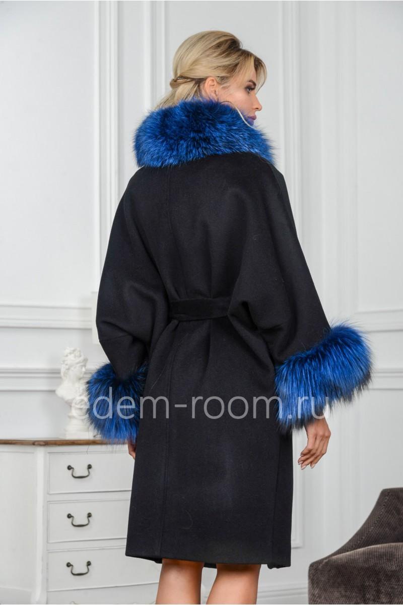 Шикарное пальто - пончо