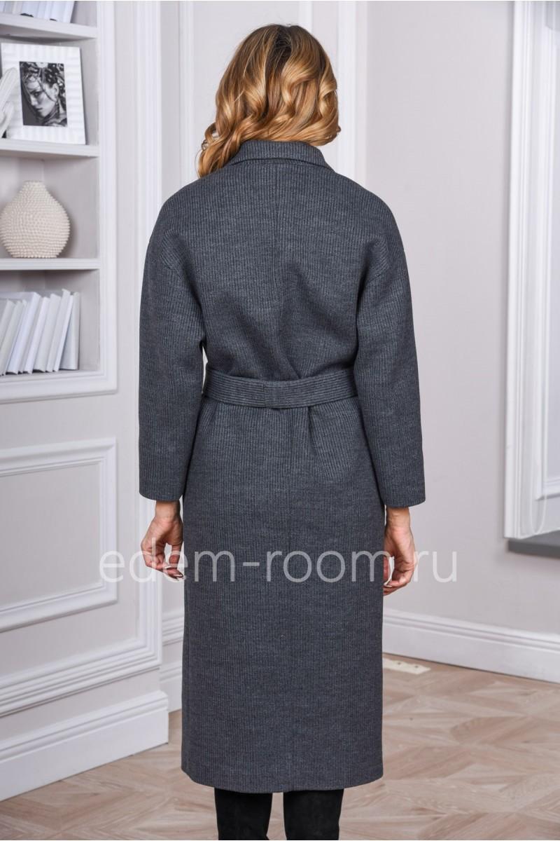 Женское удлинённое пальто