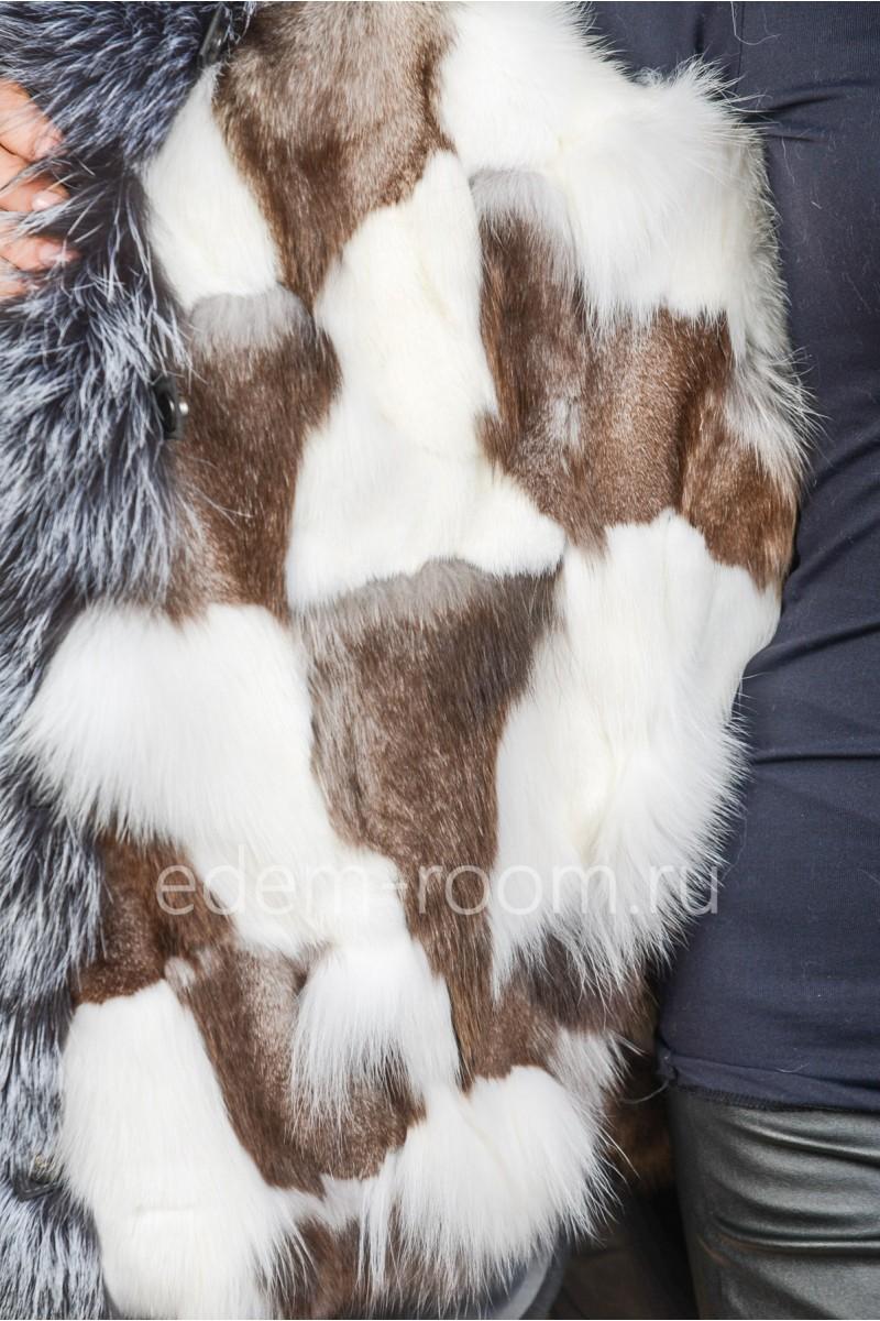 Куртка -парка на мехе