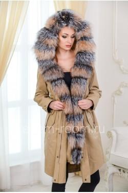 Парка - пальто с мехом