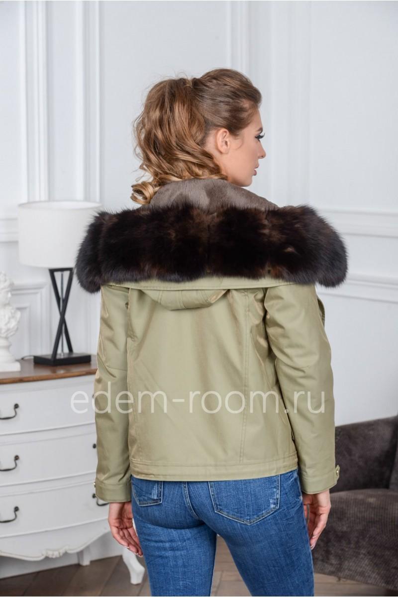 Короткая куртка - парка