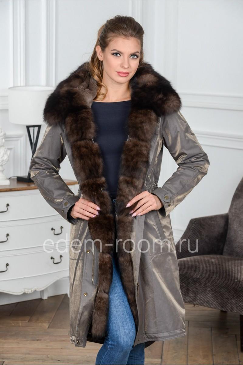 Зимняя парка - пальто Зима